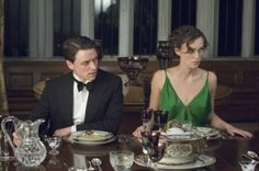 Cecilia Tallis (Keira Knightley), Robbie Turner (James McAvoy) ~ Atonement (2007) ~ Movie Stills