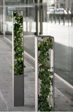security bollard for public spaces HEDERA bollard ATECH. # Environmental Graphics