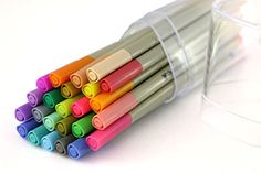 Fineliner Pen Set Chroma Scapes 24 Colors 0.4mm tips by S... https://www.amazon.com/dp/B01DS7W5O0/ref=cm_sw_r_pi_dp_x_kSyBybGSQG10Y