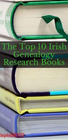 The Top 10 Irish Genealogy Research Books | Bespoke Genealogy