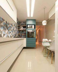 Ameiii a torre combinando com os azulejos da cozinha!