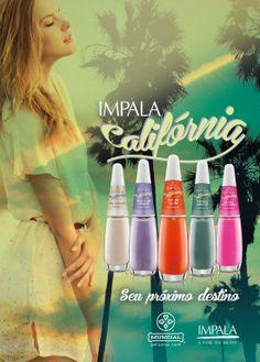 Nova Coleção de Esmaltes Impala Califórnia