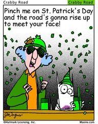 Maxine on St. Patrick's Day