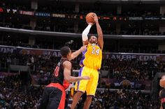 Two games. 83 points. 24 assists. 34 years old. above. 500. #CountOnKobe