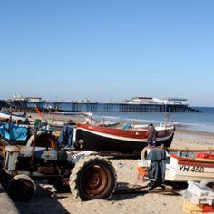 Cromer, England  ~ The North Sea