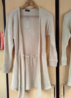 Kaufe meinen Artikel bei #Kleiderkreisel http://www.kleiderkreisel.de/damenmode/cardigans/48552504-cardigan-strickjacke-beige-von-vero-moda