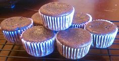 Gluten Free Family: Chocolate muffins or cupcakes: Protien rich breakfast and treat!