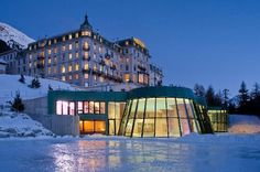 Grand Hotel Kronenhof - Suiça / Os melhores hotéis spas do mundo