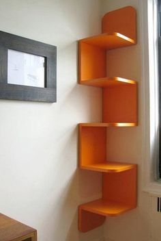 Tag res d 39 angle sur pinterest mur d 39 angle tag res coin t l visio - Etagere d angle murale pour tv ...
