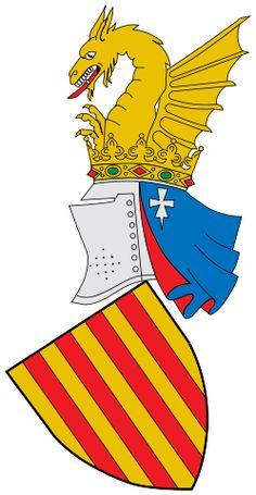 Escudo de la Comunidad Valenciana - España. La Comunidad Valenciana es una comunidad autónoma de España, la cual se constituyó el año 1982. El territorio actual valenciano, coincide en su mayor parte con el del histórico Reino de Valencia, el cual a lo largo de la historia ha recibido diversas denominaciones, a partir de la década de 1960, País Valenciano.