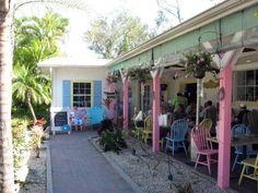 the island cow...great + adorable restaurant on sanibel island!