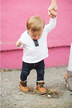 Meu bebê de jeans!