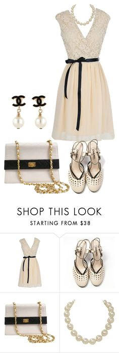 """Untitled #1547"" by jeanne-lemaire-romero ❤ liked on Polyvore featuring Chanel"