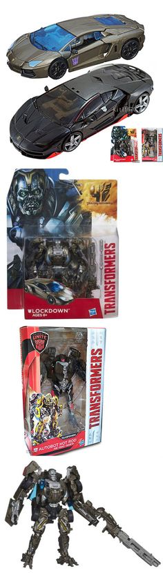 Transformers and Robots 83732: ! Usa Hasbro Transformers Last Knight Deluxe Hot Rod And Aoe Lockdown Combo Set -> BUY IT NOW ONLY: $64.99 on eBay!