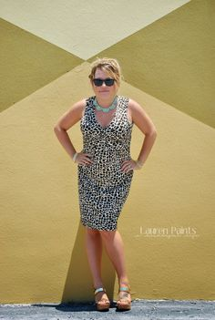 Trendy - One Dress, Styled 4 Ways {on a budget}