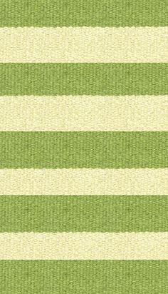 Hampton 4-inch Stripe Indoor/Outdoor PVC Rug - Lime and Tan