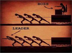 Pomon ja johtajan ero