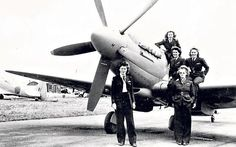Female members of the Air Transport Auxiliary