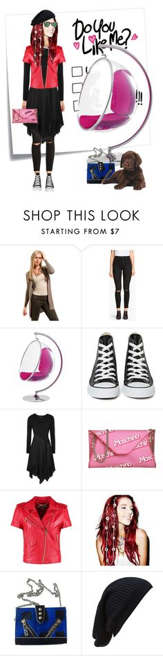 """""""Do you like me"""" by remembrandt ❤ liked on Polyvore featuring Post-It, MABEL, H&M, Converse, Donna Karan, Moschino, MICHAEL Michael Kors, VidaKush, Kenzo and Forever 21"""