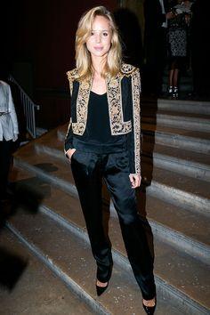 Elin Kling en la cena exclusiva de presentación de la colección FW13 de Ralph Lauren