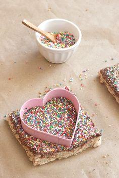 Chocolate Fairy Bread Hearts