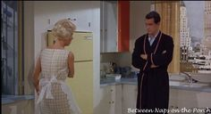 Lover Come Back: Tour The New York Apartments in This Doris Day and Rock Hudson Classic | http://betweennapsontheporch.net/lover-come-back-movie-tour-the-new-york-apartments-in-this-doris-day-and-rock-hudson-classic/