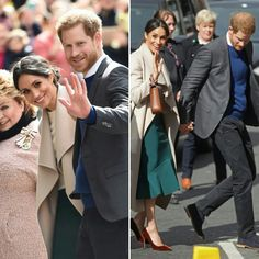 March 2018. Prince Harry and Meghan Markle enjoying Belfast!