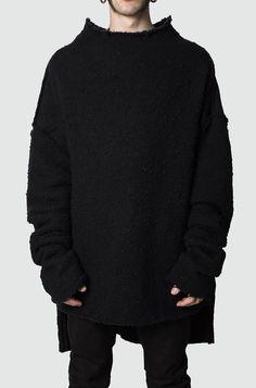 CARL IVAR   Oversized merino wool knit sweater