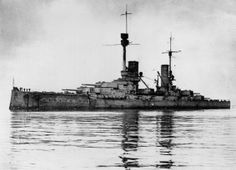 German Battleship SMS Konig was heavily damaged during the Battle of Jutland. She survived the war but was scuttled at Scapa Flow.