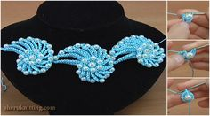 How To Crochet Cord Necklace
