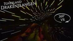 Toverland 2019 Drakenslangen (Black Hole) 360° VR Onride Vr, Drake, Neon Signs, Black, Black People