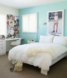 beautiful south: Teenage Bedroom Decor my dream bedroom Teenage Girl Bedroom Designs, Teenage Room, Teenage Girl Bedrooms, Girls Bedroom, Bedroom Decor, Bedroom Ideas, Bedroom Colors, Bedroom Inspo, Bedroom Wall