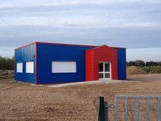 Fa ades google and recherche on pinterest - Maison dans hangar metallique ...