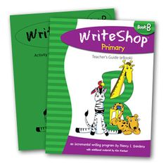 """I love the friendly approach that makes writing fun."" {WriteShop Primary Book B review gr. 1-3}"