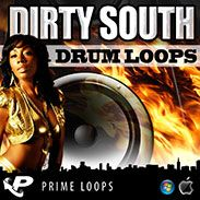 Dirty South Drum Loops from Prime Loops distributed by Loopmasters - http://www.audiobyray.com/product/samplepack-dirty-south-drum-loops/ - Prime Loops, Sample Packs