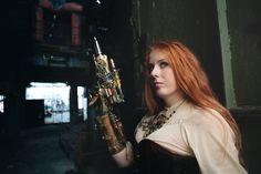 Photo taken by Lukáš Krása Photography Steampunk by Petra Slováková   https://www.facebook.com/gabrielletaroka?fref=ts     #victorian #steampunk #historical #19th #aristocrat #hand #steampunk costume #jewelry #clock #handmade