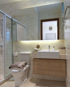 Similar layout as our master bathroom!