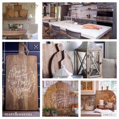 Joanna Gaines is always ON POINT! But I have to think my Mary & Martha pizza tray and bread board take it one step beyond awesome! www.luke1042.com