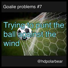 Goalie problems