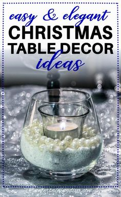 I love these creative Christmas table decorations! So easy to do but still look elegant. I can't wait for Christmas dinner! #entertainingdiva #christmas #tablescape #christmas #tabledecor #holidaysandevents Diy Christmas Decorations For Home, Haunted House Decorations, Christmas Table Settings, Christmas Tree Themes, Christmas Tablescapes, Holiday Tables, Christmas Lights, Holiday Decorating, Elegant Christmas