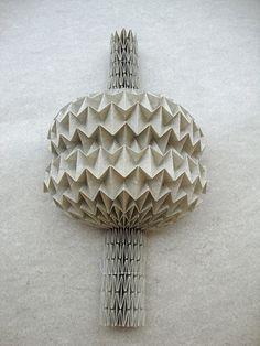 white - Paper - sculpture -Andrea Russo