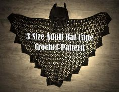 Check out this item in my Etsy shop https://www.etsy.com/listing/516919285/3-sizes-adult-bat-cape-crochet-pattern
