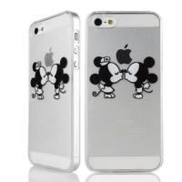COQUE - BUMPER Coque iphone 4/4S mickey minnie bisous swag + Film