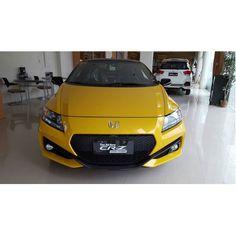 that Mustard color Honda #crz by cotton_kenji