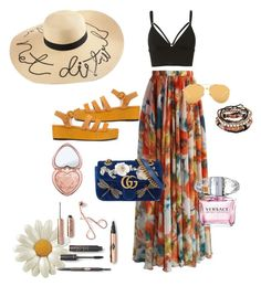 Designer Clothes, Shoes & Bags for Women Too Faced Cosmetics, Linda Farrow, Alexander Wang, Versace, Summer Outfits, Gucci, Polyvore, Stuff To Buy, Shopping