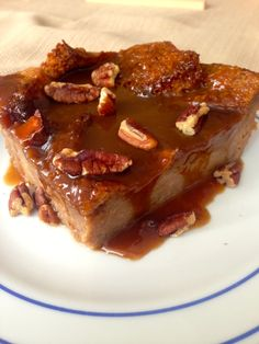 Sweet, decadent Chai Spiced Bread Pudding, a perfect spicy autumn dessert or brunch item!