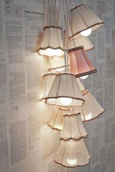Flower Shop Interior Design Shabby Chic | Otro rinconcititito, sólo una buena silla con un mullido tapizado y ...