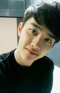 Kyungsoo!!! # อร๊ายยย อย่ายิ้มแบบนี้ # หัวใจวายย