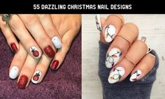 Amazing Christmas nail design and ideas to make you stand out this season. Christmas Nail Designs, Christmas Nails, Glamour Ladies, New Nail Art, Fun Nails, Nail Art Designs, Nail Polish, Make It Yourself, How To Make