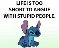So go away you dirty little druggy . Funny True Quotes, Cute Quotes, Funny Memes, Lilo And Stitch Quotes, Lelo And Stitch, Cute Stitch, Cute Disney Drawings, Pomes, Minion Jokes